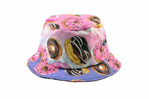 NEW Donut Print Bucket Hat