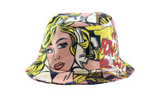 Load image into Gallery viewer, NEW Pop Art Print Bucket Hat