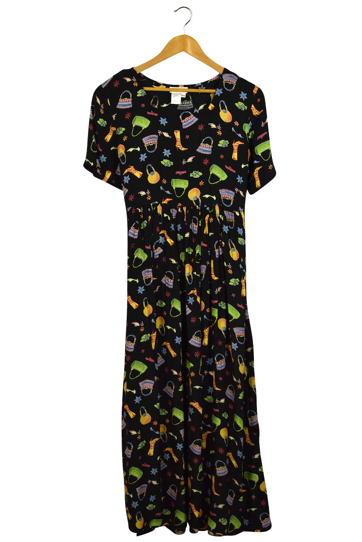 Coldwater Creek Brand Maxi Smock Dress