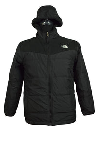 The North Face Brand Black Puffer Fleece Jacket