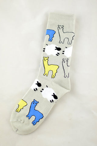NEW Llama and Sheep Socks
