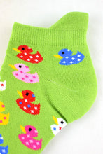 Load image into Gallery viewer, NEW Spotty Ducks Anklet Socks
