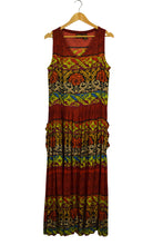 Load image into Gallery viewer, Bila Brand Abstract Print Maxi Dress
