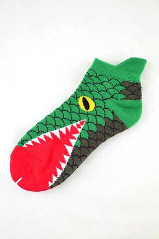 NEW Crocodile mouth anklet socks