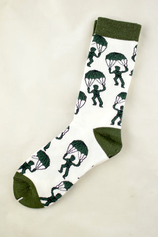 NEW Parachuting Army Men Socks