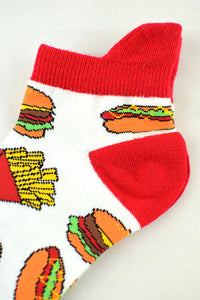 NEW Fast Food Anklet Socks