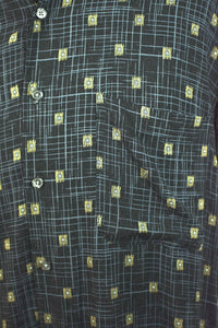 Natural Issue Brand /Abstract Print Party Shirt