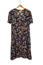 Load image into Gallery viewer, Maggie London Petites Brand Rose Print Dress