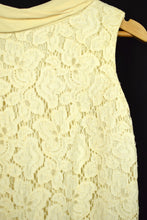 Load image into Gallery viewer, 1960s Ivory Lace Dress
