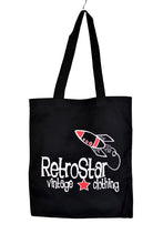 Load image into Gallery viewer, NEW RetroStar Black Tote Bag