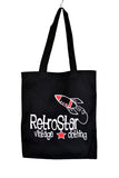 NEW RetroStar Black Tote Bag