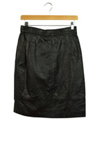 Load image into Gallery viewer, Vintage Black High Waisted Pencil Skirt