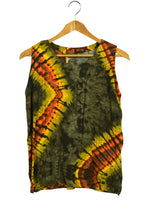 Load image into Gallery viewer, Tie Dye Rayon Singlet Top