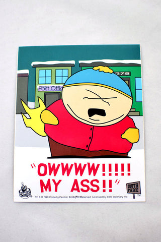 Deadstock 1998 Cartman South Park Sticker