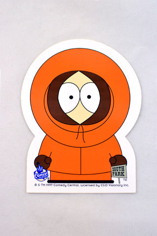 Deadstock 1997 South Park Kenny Sticker