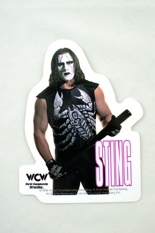 Deadstock 1998 WCW Sting Sticker
