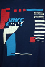 Load image into Gallery viewer, 90s Childrens Nike Brand Abstract Print Sweatshirt
