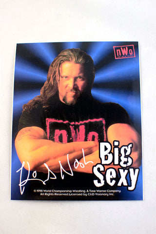 Deadstock 1998 NWO/WCW 'Big Sexy' Kevin Nash Sticker