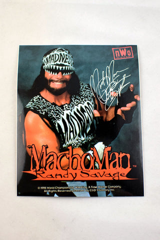Deadstock 1998 NWO/WCW Macho Man Randy Savage Sticker