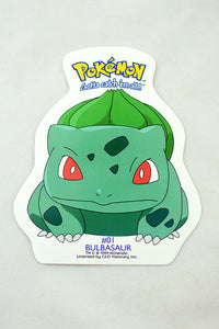 Deadstock 1999 Bulbasaur Pokemon Sticker