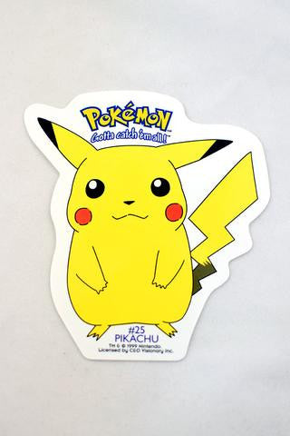 Deadstock 1999 Pikachu Pokemon Sticker