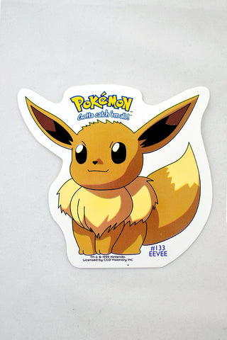 Deadstock 1999 Eevee Pokemon Sticker