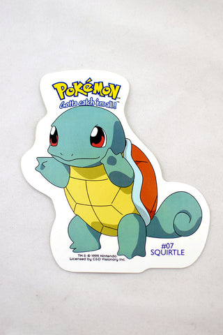 Deadstock c1999 Squirtle Pokemon Sticker