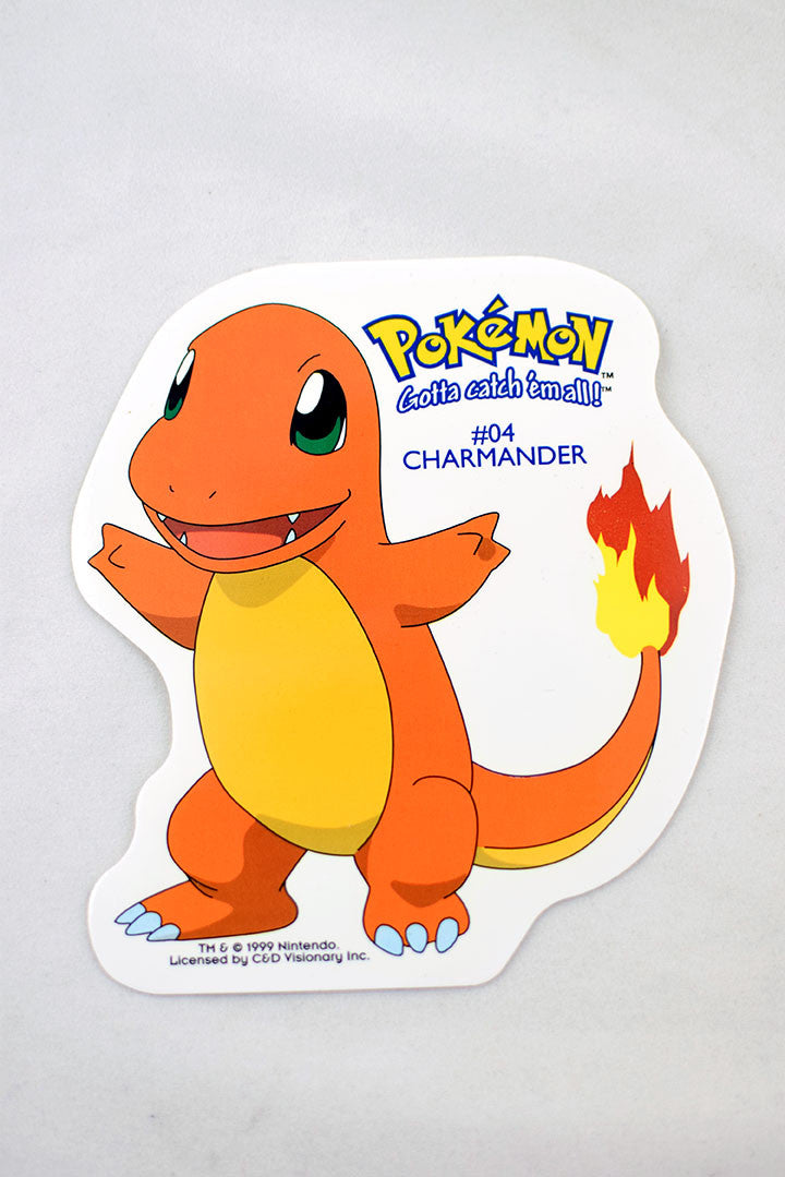 Deadstock 1999 Charmander Pokemon Sticker