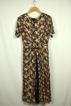 Load image into Gallery viewer, 80s St Arinal Brand Rose Print Dress