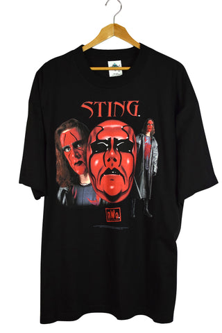 DEADSTOCK 1998 Sting WCW NWO T-Shirt