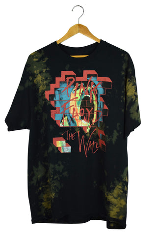 NEW 2017 Tie-Dye Pink Floyd The Wall T-Shirt