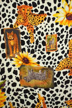 Load image into Gallery viewer, 80s Office Hours Brand Leopard Top