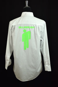 1999 Blurbondah Brand Customised White Business Shirt