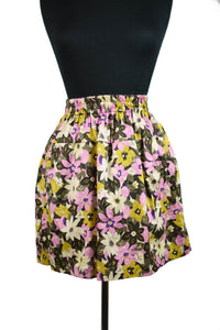 Pretty Floral Reworked Skirt