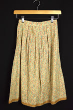 Load image into Gallery viewer, Reworked Spring Coloured Vintage Skirt