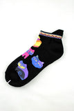 NEW Folk Art Cats Anklet Socks