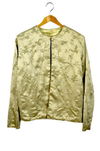 Ladies Champagne Colour Beaded Jacket