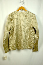Load image into Gallery viewer, Ladies Champagne Colour Beaded Jacket