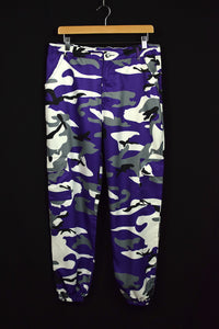 Purple Camo Cargo Pants