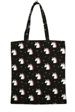 Load image into Gallery viewer, NEW Unicorn Print Tote Bag
