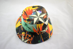 NEW Cat And Stars Print Bucket Hat