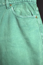 Load image into Gallery viewer, Levi's Brand Green Denim Shorts