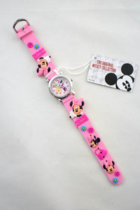 Pink Minnie Mouse Watch