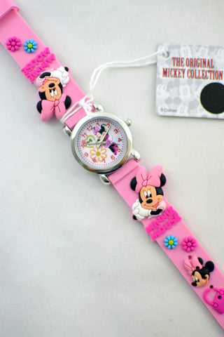 NEW Pink Minnie Mouse Watch