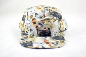 NEW Cat Collage Cap