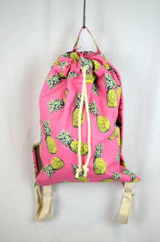 NEW Novelty Print Pineapple Backpack