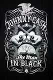 NEW Johnny Cash The Man in Black T-shirt