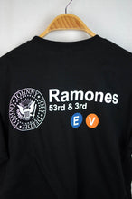 Load image into Gallery viewer, NEW The Ramones Map T-shirt