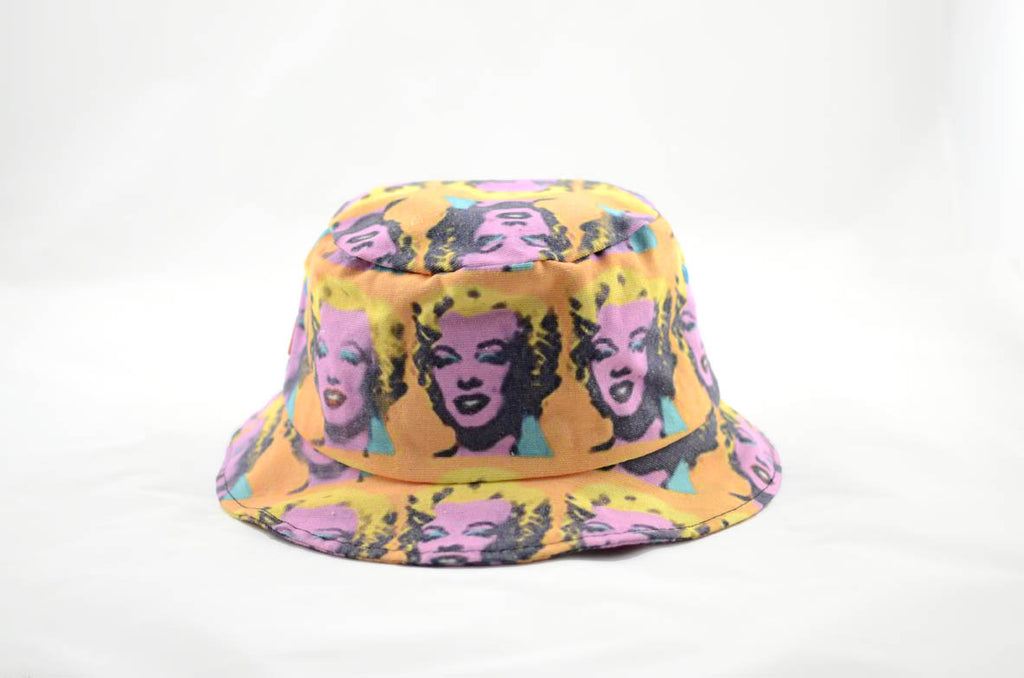NEW Marilyn Monroe Print Bucket Hat