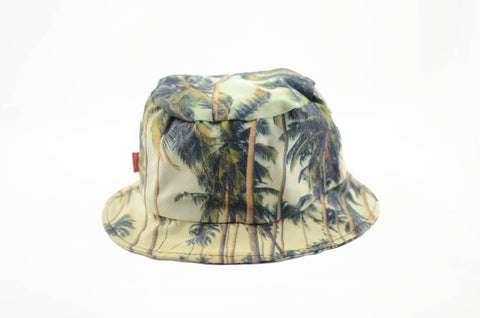 NEW Palm Trees Print Bucket Hat
